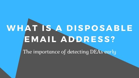 Disposable Email Address Detection