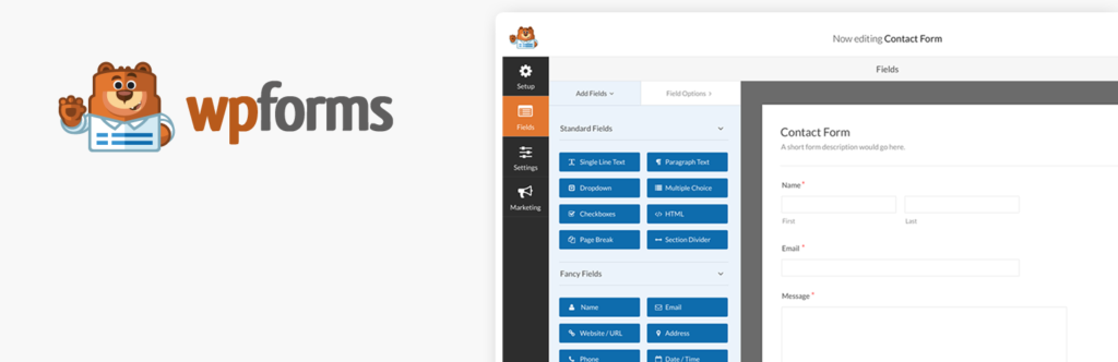 WPforms Forms WordPress Plugin