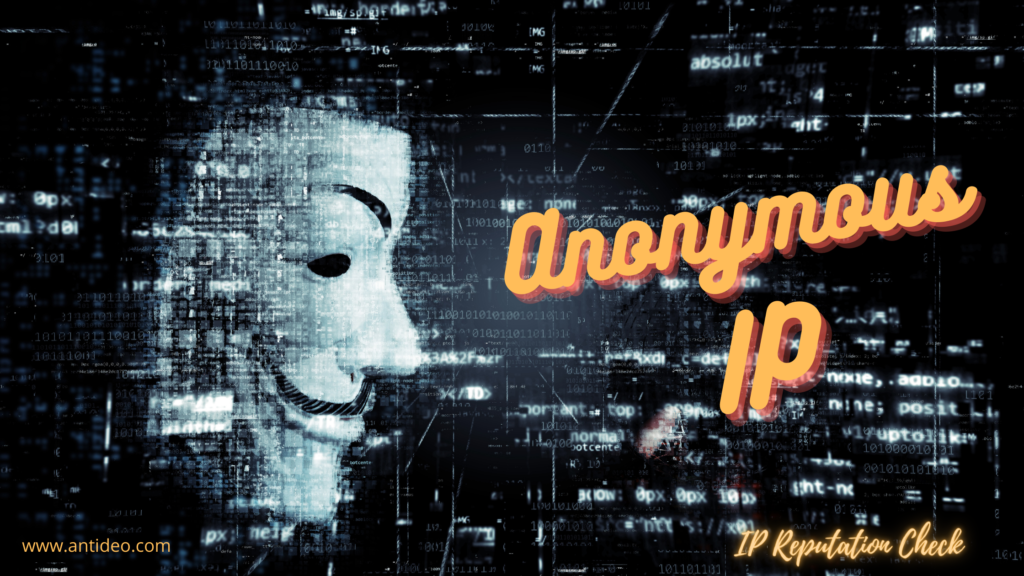 Anonymous IP and the Risks