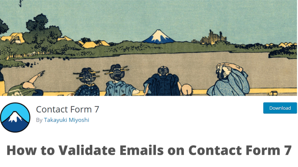 Validate Emails on Contact From 7